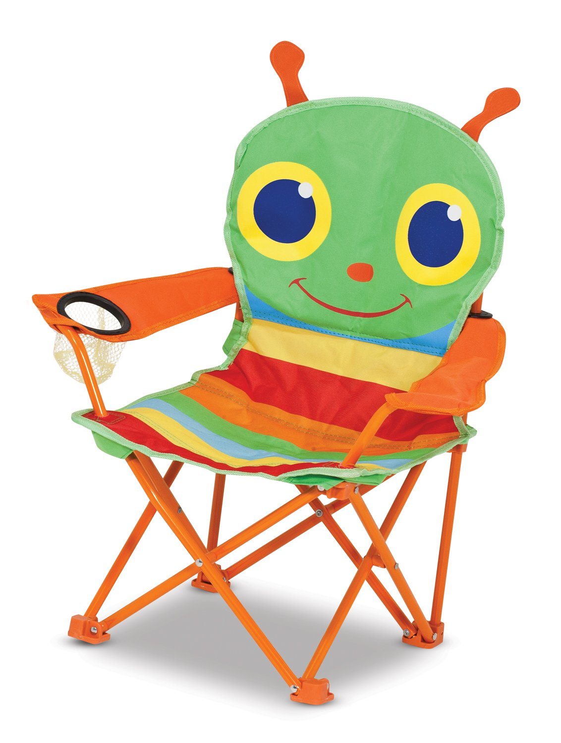 Etonnant Amazon.com: Melissa U0026 Doug Sunny Patch Happy Giddy Outdoor Folding Lawn And  Camping Chair: Melissa U0026 Doug: Toys U0026 Games