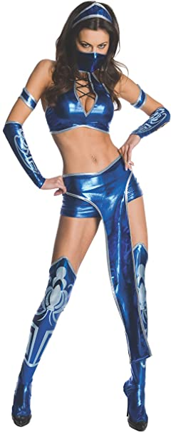 Secret Wishes Womens Mortal Kombat Kitana Costume