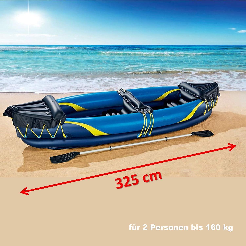 freizeit Tiempo Libre Kayak Hinchable de 2 Personas - Lancha ...