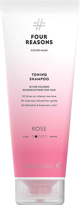 Color Mask Shampoo - Sulfate Free Toning Pink Shampoo para ...