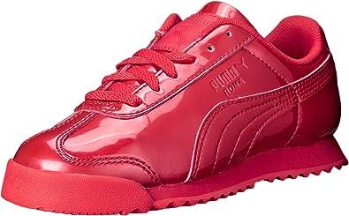basket puma enfent rouge