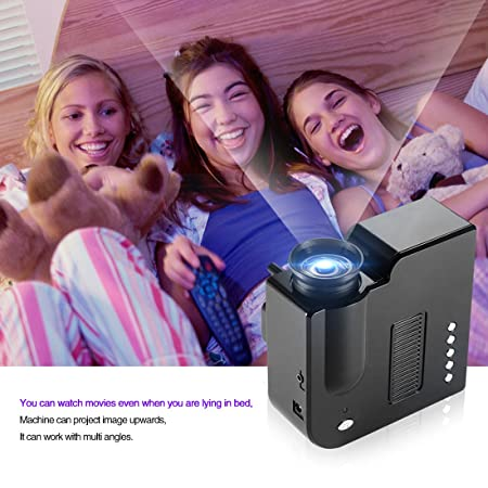 Meyoung TC-PRJORS-GP5SB - Mini proyector LED portátil, color negro ...