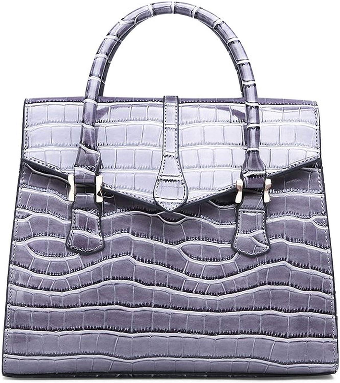 Female Bag Classic Crocodile Lady Handbag European And American Style Cross Border Shoulder Crossbody Bag