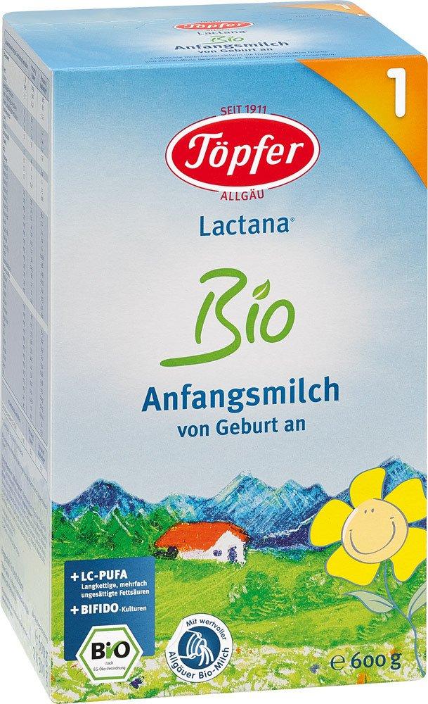 Toepfer Lactana Bio 1, Pulver, 600 g 60121