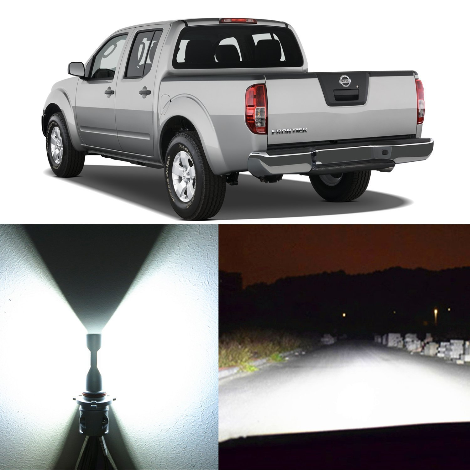 ... Bulbs for High Low Beam Headlamp Conversion Kits for 2001 ~ 2005 2006  2007 2008 2009 2010 2011 2012 2013 2014 2015 2016 2017 Nissan Frontier:  Automotive