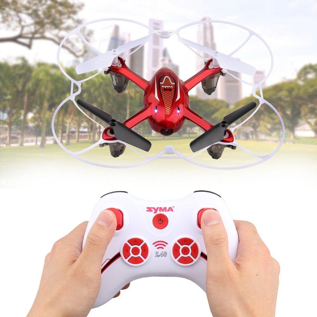 tienda Promoción por tiempo tiempo tiempo limitado Syma X11C RC 2.4G RC Quadcopter Mini Drone Helicopter Aircraft With 2MP HD Camera  LED Light WildGrow (X11C Red)  Felices compras