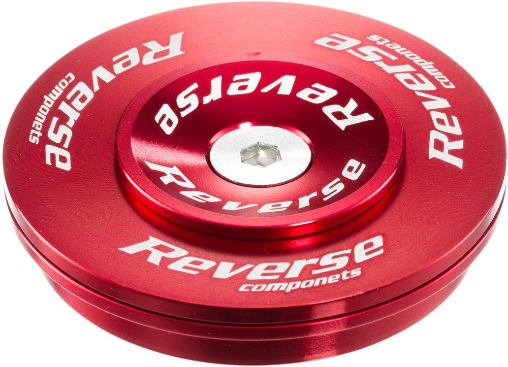 Reverse Twister Top Cup Headset Steuersatz 1.5-1 1/8 Semi Integriert rot