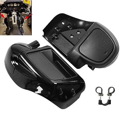 Frames & Fittings Motorcycle Vivid Black 6.5 Speaker Box Lower Vented Fairing Leg For Harley Touring Flhx Fltrx Street Electra Road Glide 14-18 Covers & Ornamental Mouldings
