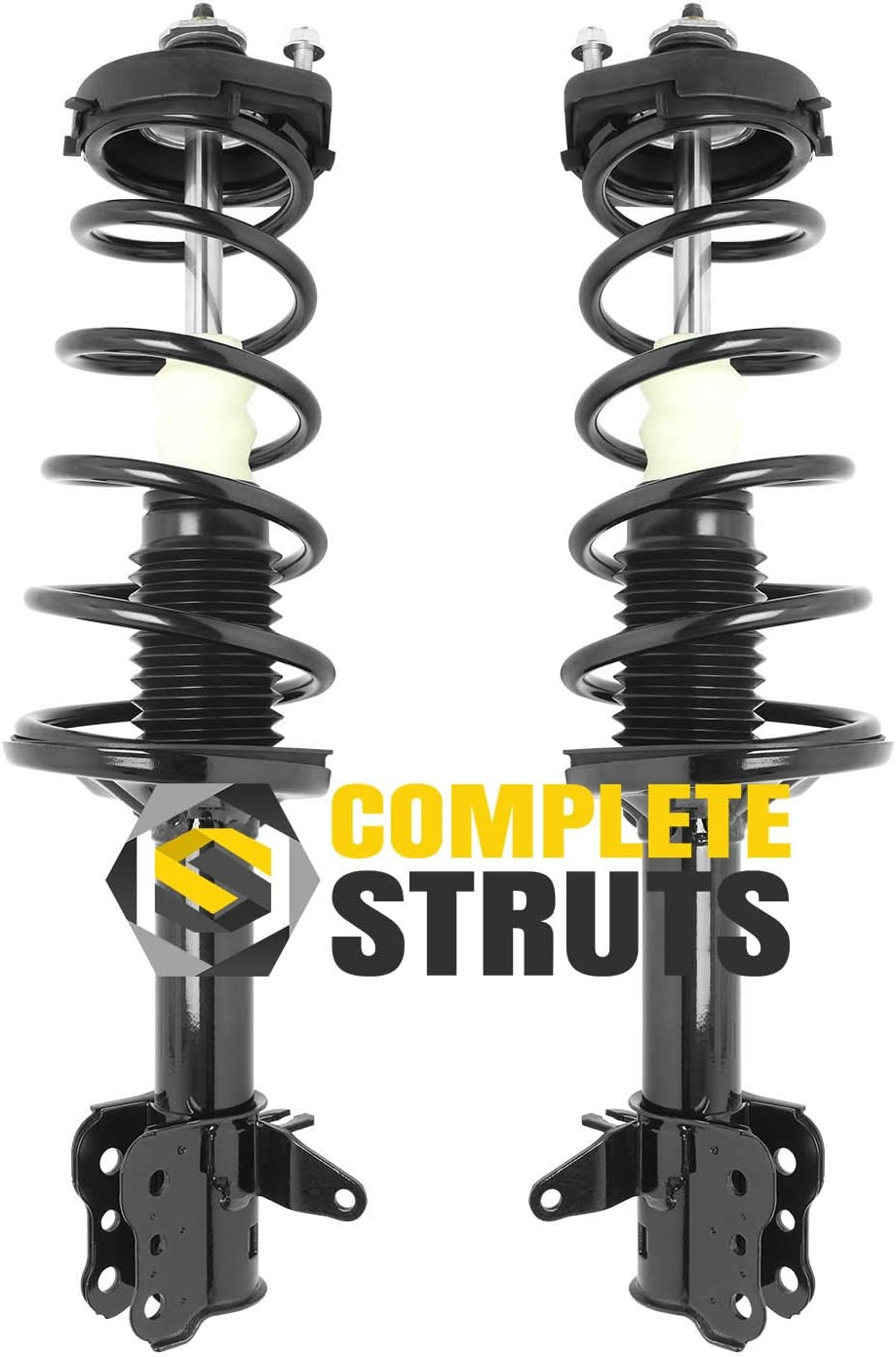 Front Pair SCITOO Complete Strut Coil Spring Assembly Replacement Struts Shocks Fit for 2000-2003 Mazda Protege,2002-2003 Mazda Protege5