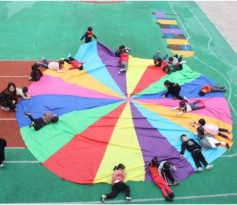 TOYANDONA Jugar al paraca/ídas,Deportes al Aire Libre,Juegos de Equipo,Juguetes de paraca/ídas para ni/ños.