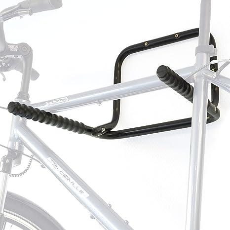 Hinrichs Soporte Bicicletas Pared - Portabicicletas de Pared Plegable para un máximo de 3 Bicicletas (máx. 55kg) - Incluye un Limpiador para la Cadena de la Bicicleta: Amazon.es: Deportes y aire libre