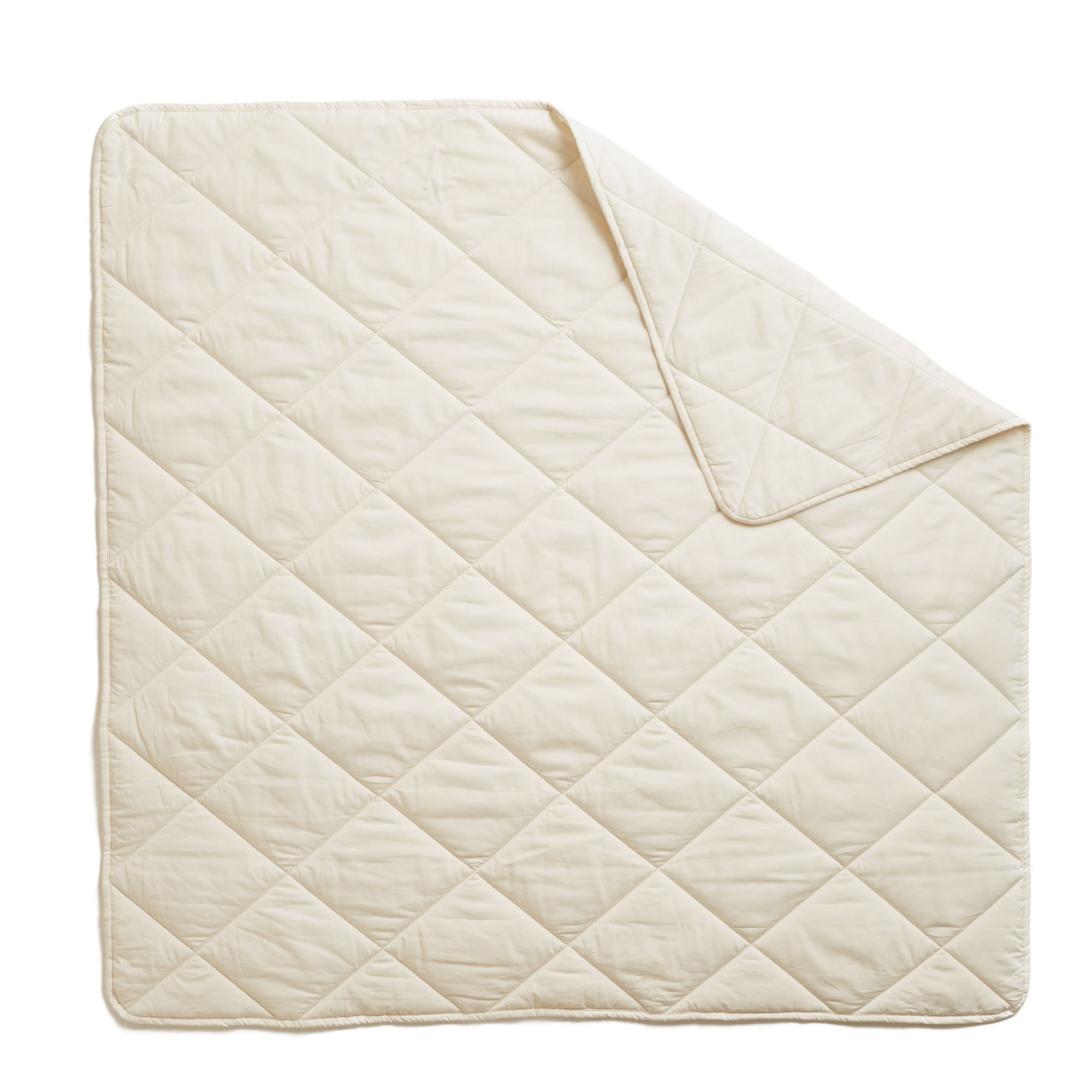 Brooklyn Born Organic Quilt - All Natural, Ivory, One Size by Brooklyn Born (Image #2)