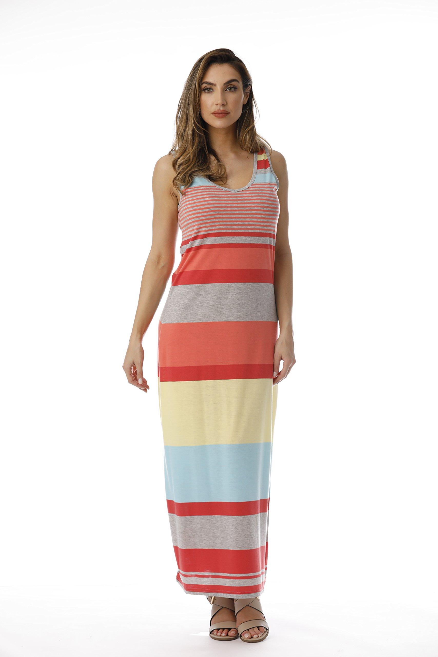 Just Love 3007-137-CA-XL Summer Dresses Maxi Dress