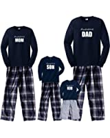Personalized Awesome Family Matching Navy Outfits
