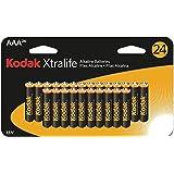 Kodak Xtralife K3A-24 Alkaline Batteries (Aaa, 24 Pk)