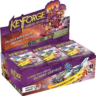 Fantasy Flight Games Keyforge Worlds Collide Archon Deck Disp, Model:KF05: Toys & Games