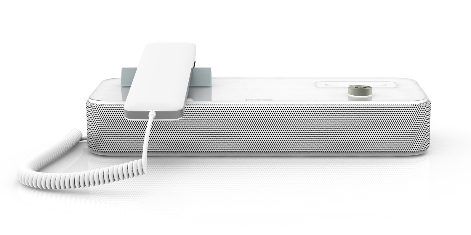 Invoxia Audioffice for Smartphones - Retail Packaging - White by Invoxia