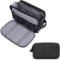 Toiletry Bag for Men, BAGSMART Travel Toiletry Organizer Dopp Kit Water-resistant Shaving Bag for Toiletries Accessories…