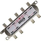 アンテナ 8分配器 BS/CS/UHF/VHF/FM/地デジ対応 全端子通電型 BL-0043TV