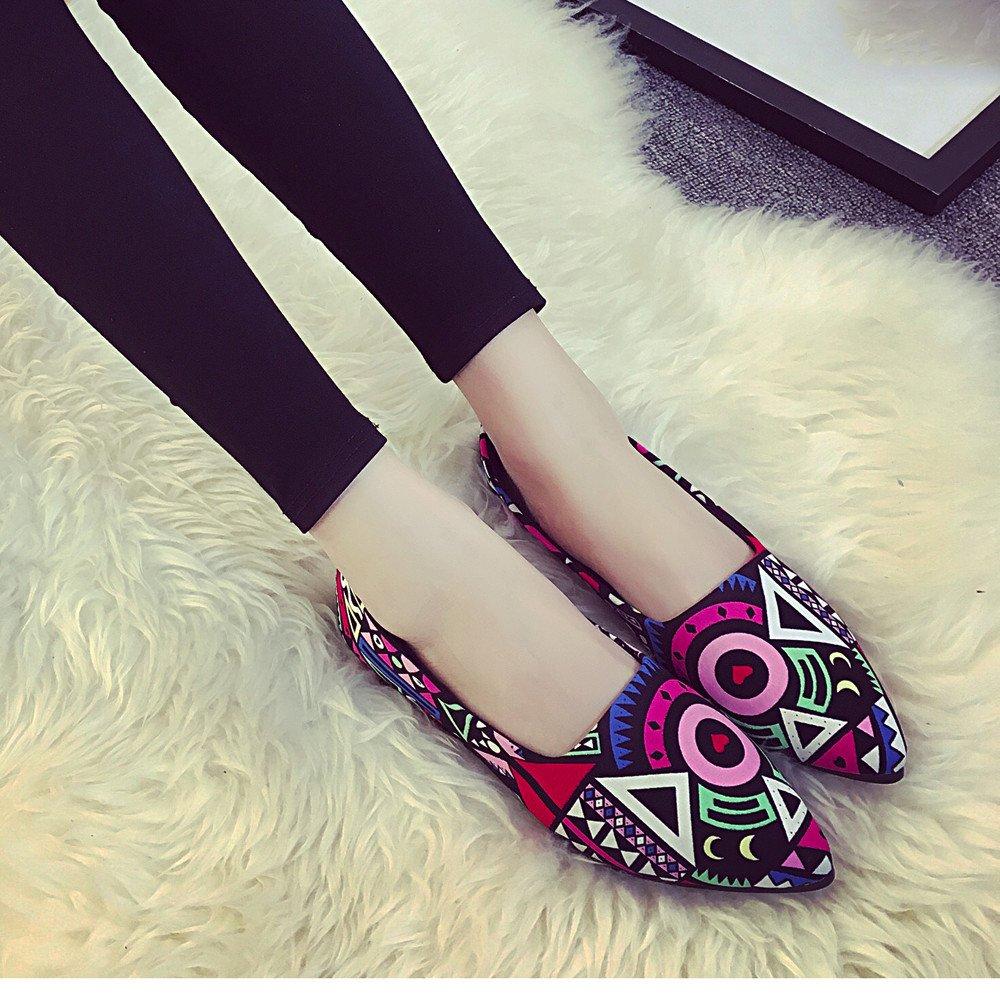Women Loafers ? Vanvler Lady Slip On Flat Shoes Ballet Doug Shoes All Seasons by Vanvler ❤ Women Shoes (Image #8)