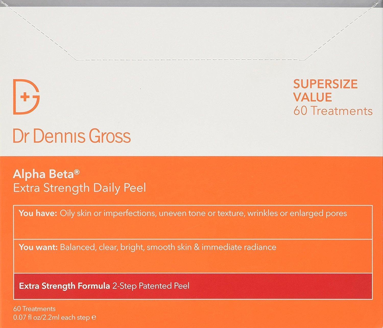 Dr. Dennis Gross Skincare Alpha Beta Peel, Extra Strength, 60 Count BOX by Dr. Dennis Gross Skincare (Image #1)