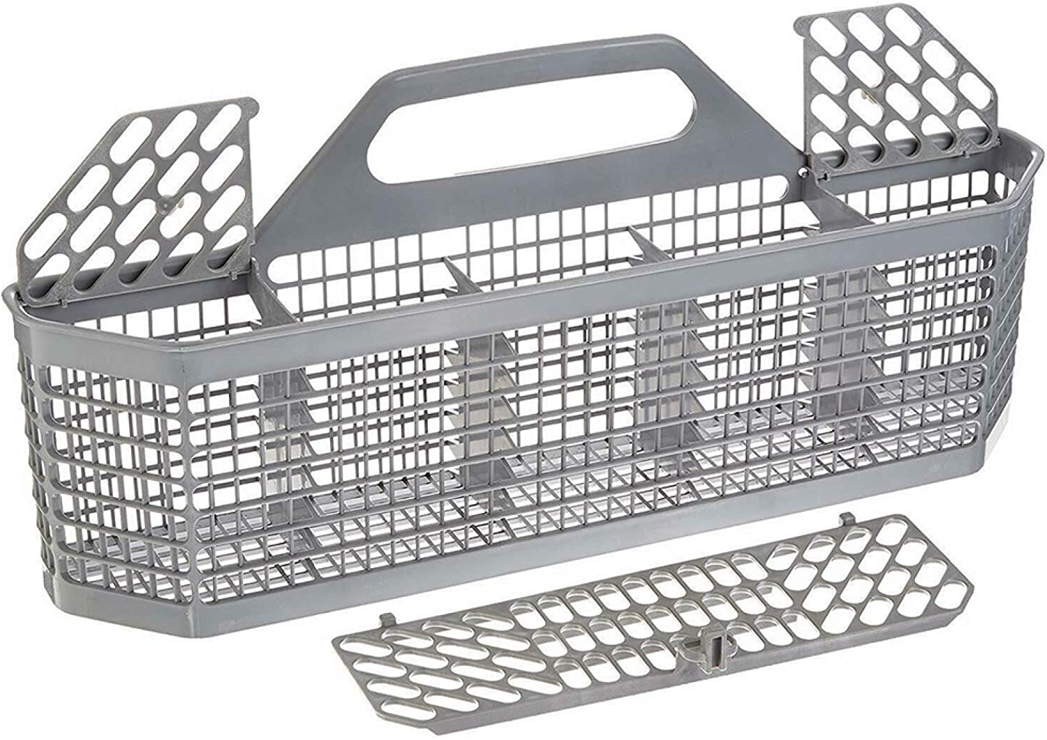 Dheera Dishwasher Utensil Basket, Dishwasher Utensil Silverware Basket Kitchen Aid Assembly, Convenient and Durable Storage Basket for Home House Tools