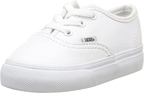 Vans Toddler Authentic White Leather