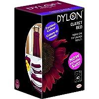 Dylon Tinte de Tejidos para Lavadora, Polvo, Rojo