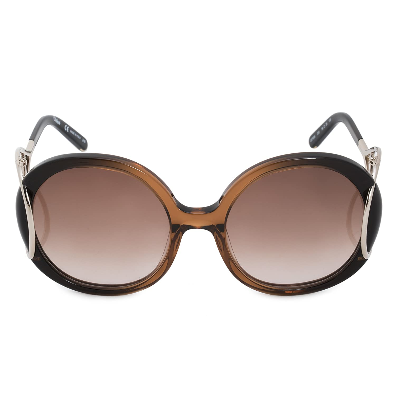 5d3238aa090 Amazon.com  Chloe Sunglasses - CE703S   Frame  Brown Gradient Lens  Brown  Gradient-CE703S233  Chloe  Clothing