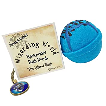 c3774dcb3872a Wizard World Blue House Bath Bomb Gift Box with Matching Pendant - Made in  USA