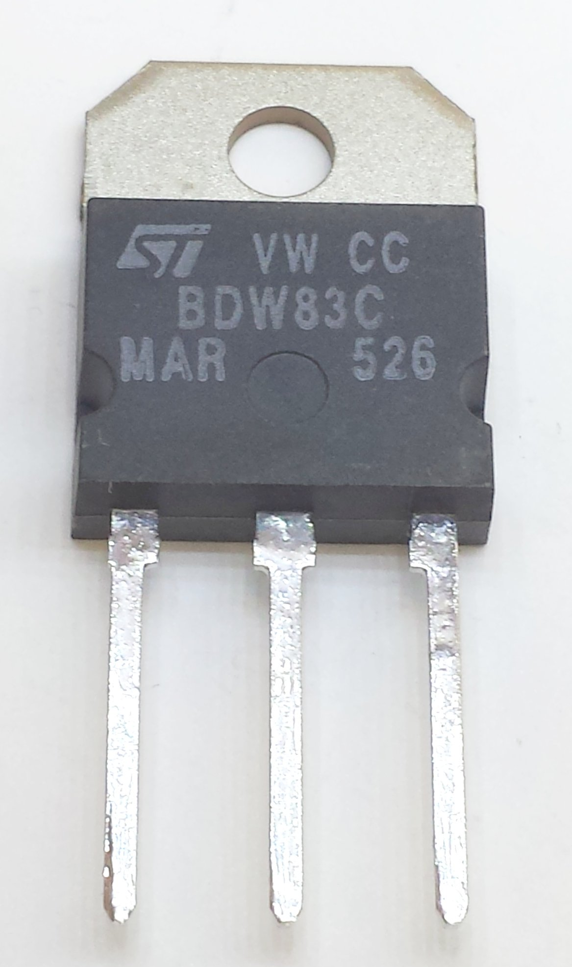 8 pieces BDW83C NPN SILICON POWER DARLINGTON TRANSISTOR | VCEO 100V | Ic 15A | Ptot 130W | TO-218 Package