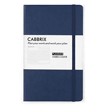 Planificador académico de tapa dura 2019-2020, Cabbrix 12 ...