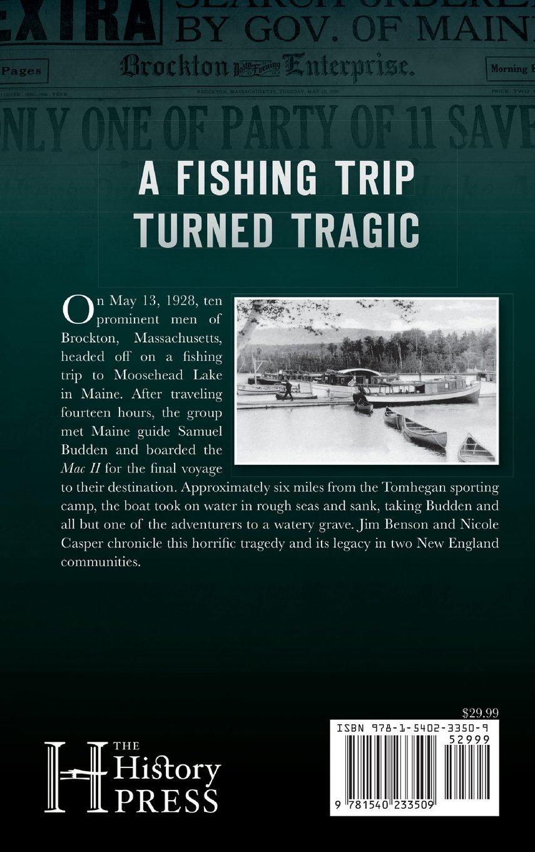 The Brockton Tragedy at Moosehead Lake - Livros na Amazon Brasil