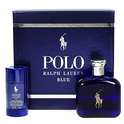RALPH LAUREN POLO BLUE EDT 125 ML + DEO STICK 75 ML SET REGALO ...