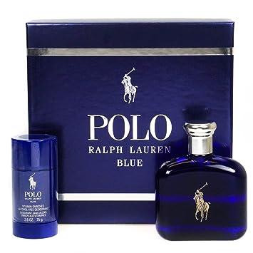 RALPH LAUREN POLO BLUE EDT 125 ML + DEO STICK 75 ML SET REGALO ...