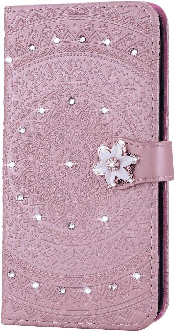 Dream2Fancy Samsung Galaxy S9 Plus Flip Case Cover for Samsung Galaxy S9 Plus Leather Kickstand Luxury Business Card Holders Cell Phone Cover with Free Waterproof-Bag