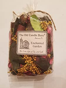 Old Candle Barn Enchanted Garden Potpourri - Perfect for Spring and Summer But Can Be Used All Year Long - Decoration or Bowl Filler
