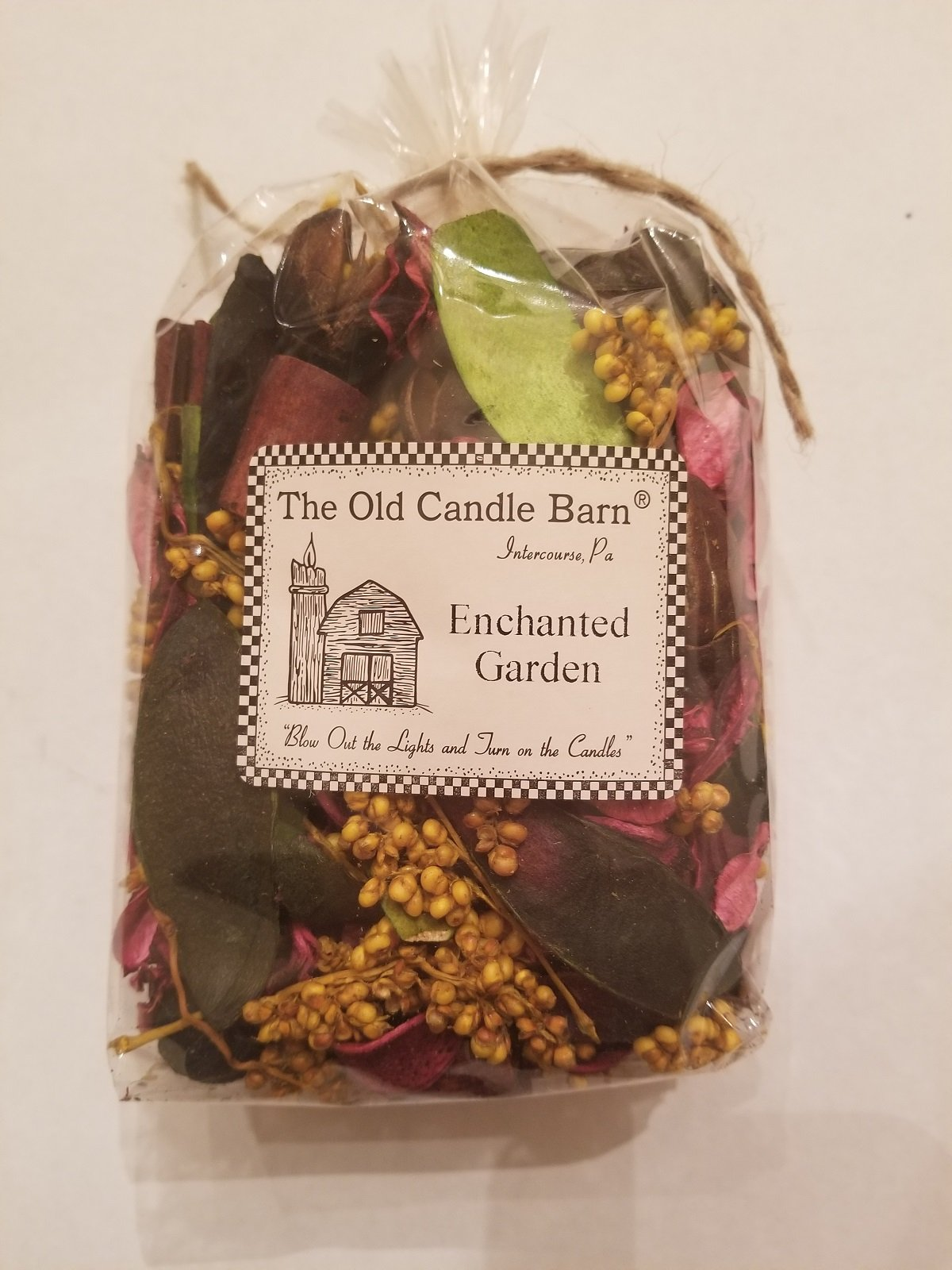 Enchanted Garden Potpourri - Perfect For Spring and Summer But Can Be Used All Year Long - Decoration or Bowl Filler