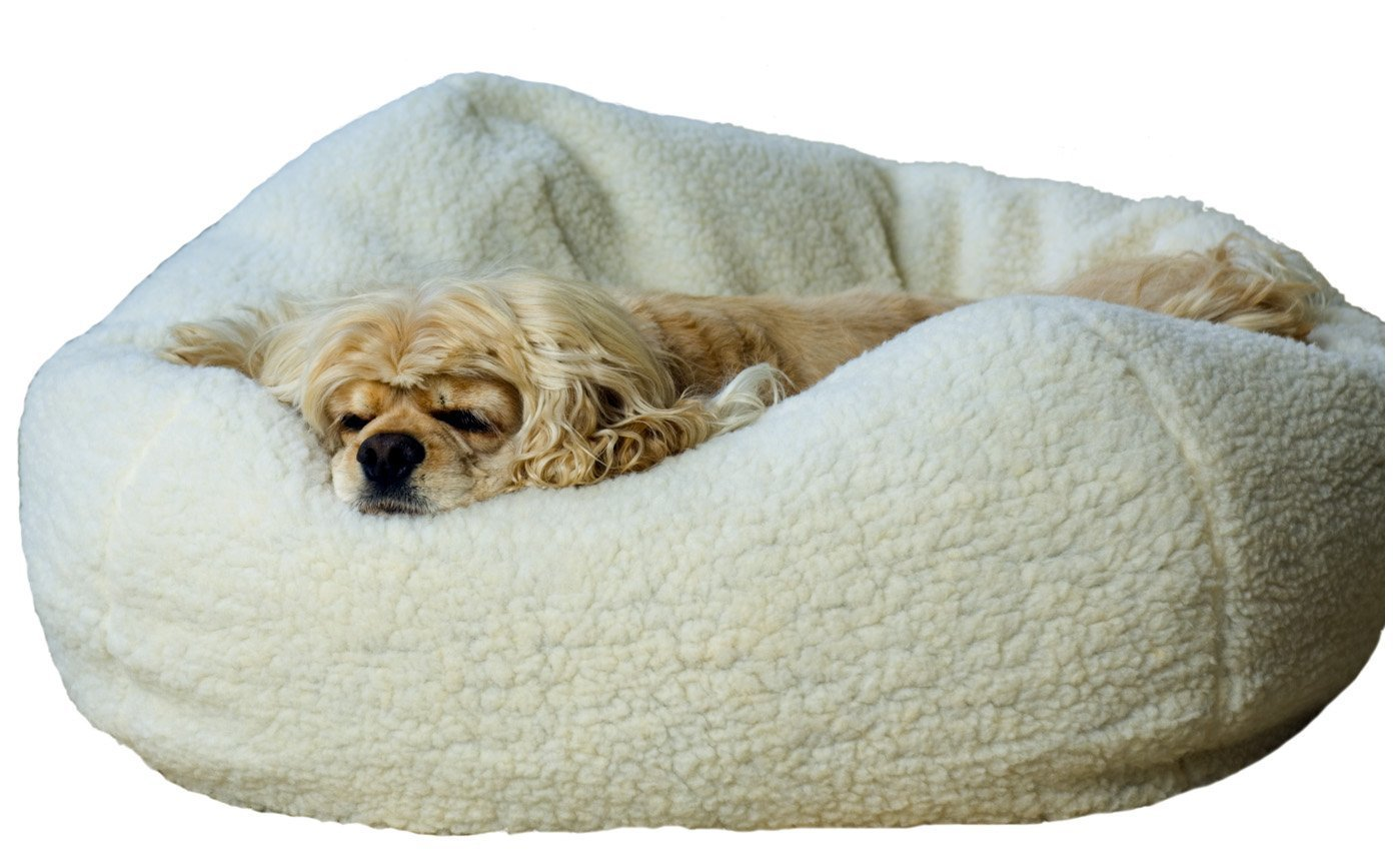 Amazon Carolina Pet Sherpa Puff Ball For Pets Small Beds Supplies