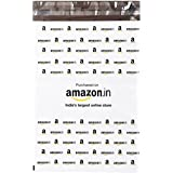 Dynaflex Amazon.In Branded Economy Polybag Without Document Pouch (Size -11 Inches X 8 Inches, Count - 100 Polybags)