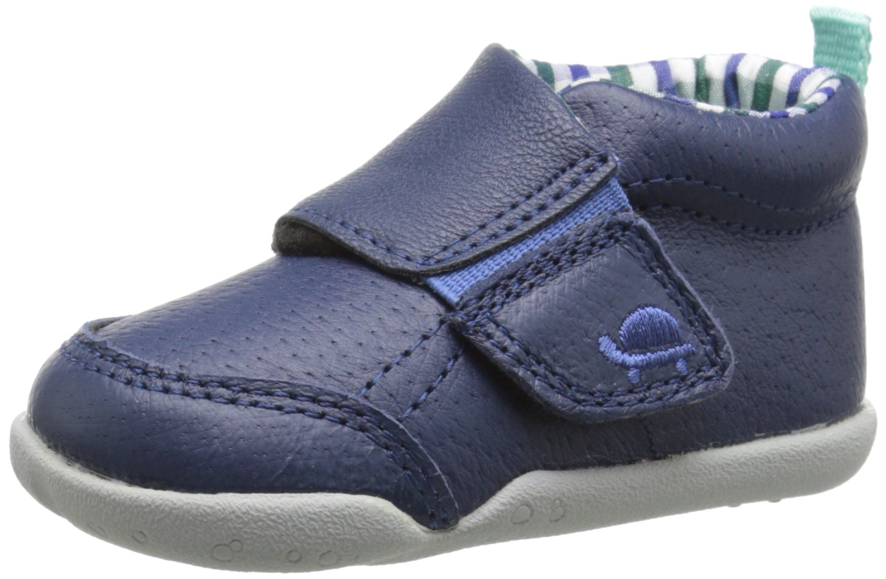 Carter's Every Step Bobby P2 Early Walker Shoe (Infant/Toddler), Navy/Plaid, 5 M US Toddler