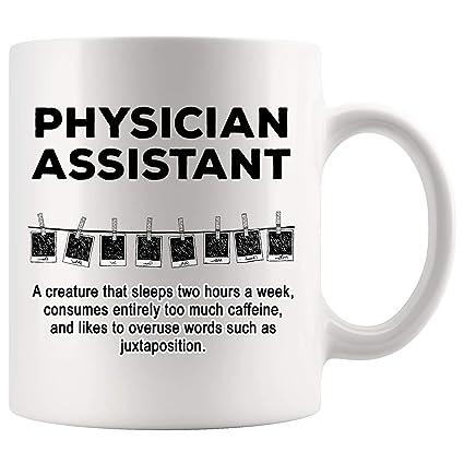 Amazon.com: Physician Assistant Mug Coffee Sarcasm Cup ...