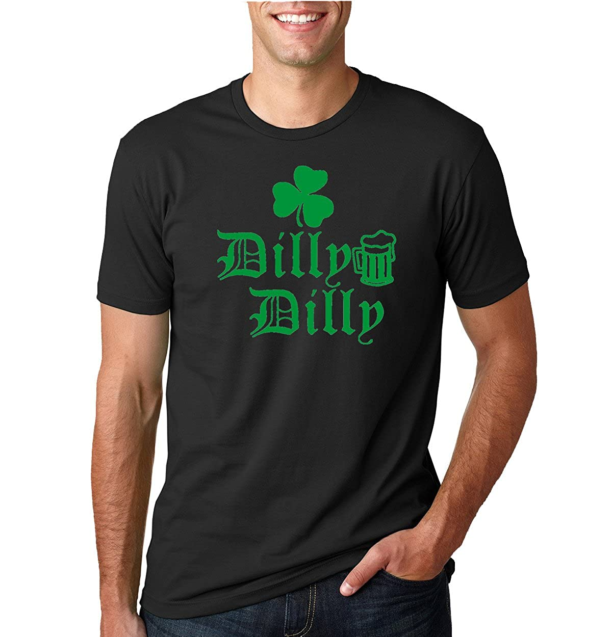 Dilly Dilly Beer Shamrock Green S St. Patricks Day Tee Graphic Tshirt