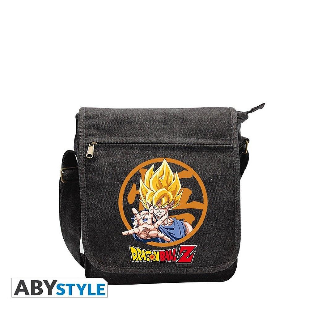 ドラゴンボール悟空色スモールメッセンジャーバッグ DRAGON BALL Goku Colors Small Messenger Bag   B00ITPQQLU