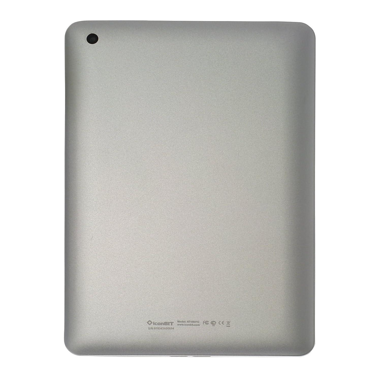 iconBIT NetTAB Skat RX 21 cm (7,9 pulgadas) Tablet-PC (ARM Cortex A9, 1,8GHz, 1GB RAM, 8GB HDD, Android 4.1) blanco: Amazon.es: Informática