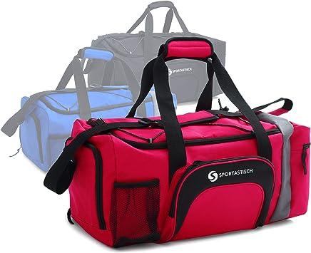 Sportastisch Sporttasche Sporty Bag mit SchuhfachNassfach und XL Hauptfach, Reisetasche für Damen, Herren und Kinder, Leichtgewicht Weekender mit bis