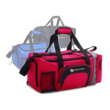 Deporte Viaje Compartimento Bolsillo Sportastisch Sporty Premium ExcelenteBolsa Con ZapatillasCorrea Y Hombro Bag De Para El sCohQrBtdx