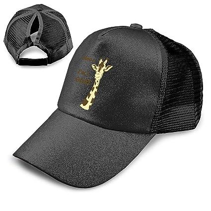 2018 Glitter Ponytail Baseball Cap Summer Women Mesh Hats Outdoor-Breathable