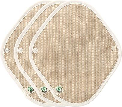 Think ECO [3 almohadillas] algodón orgánico reutilizable Panty ...