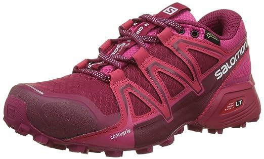 Salomon Femme Speedcross Vario 2 Chaussures de Course à Pied Et Trail Running, Synthétique/Textile, Bleu, Pointure: 36